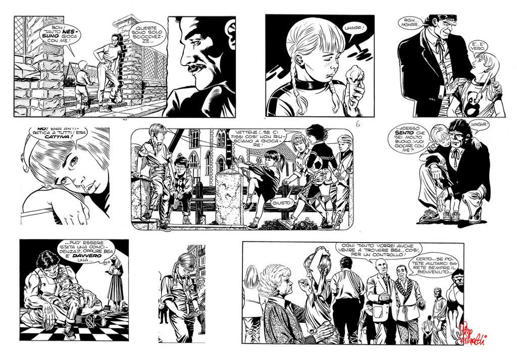 1989- Martin Mystere 92. by PinoRinaldi