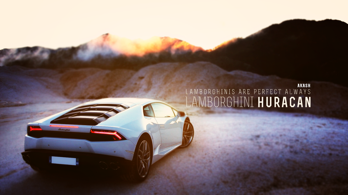 Lamborghini Huracan by Akashishere