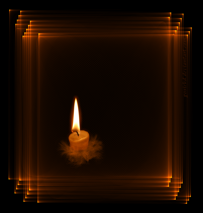 New candle in frame by gosiekd on DeviantArt IJ79
