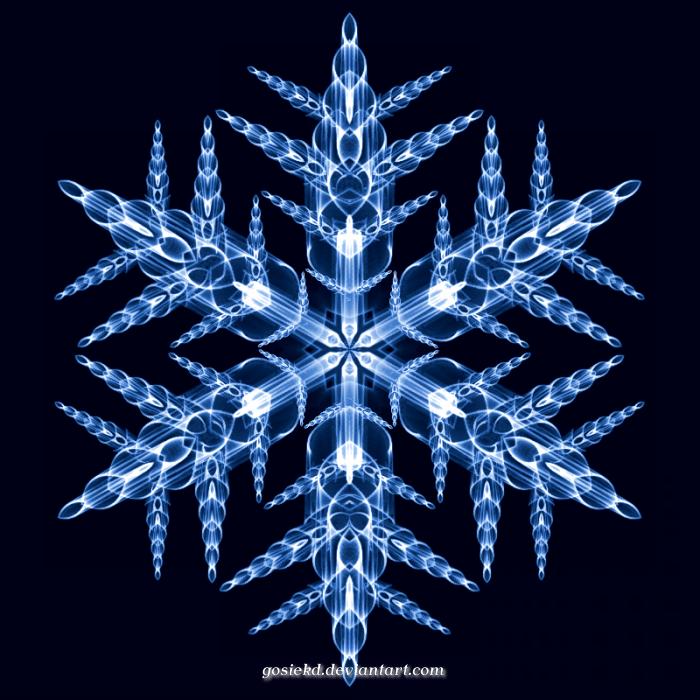 my snowflake by gosiekd
