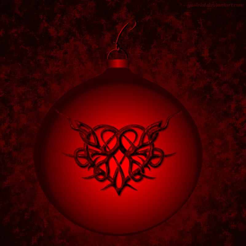 heart ornament by gosiekd