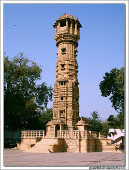 big tower in India
