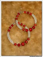 coral rings by gosiekd