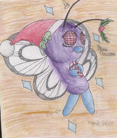 Butterfree Christmas by Manic6605