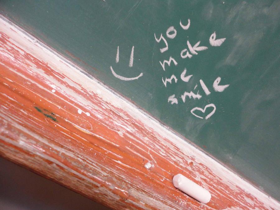 You make me smile by Tigrantia