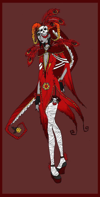 Fancy God Tier Aradia by Tigrantia