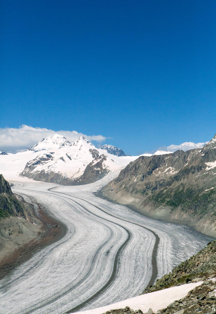 Aletsch Glacier by PenguinPhotography