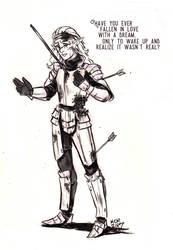 The Hero (spoilers) by paradoxhorizon