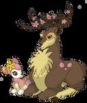 Deerling Sawsbuck BAMBI STYLE