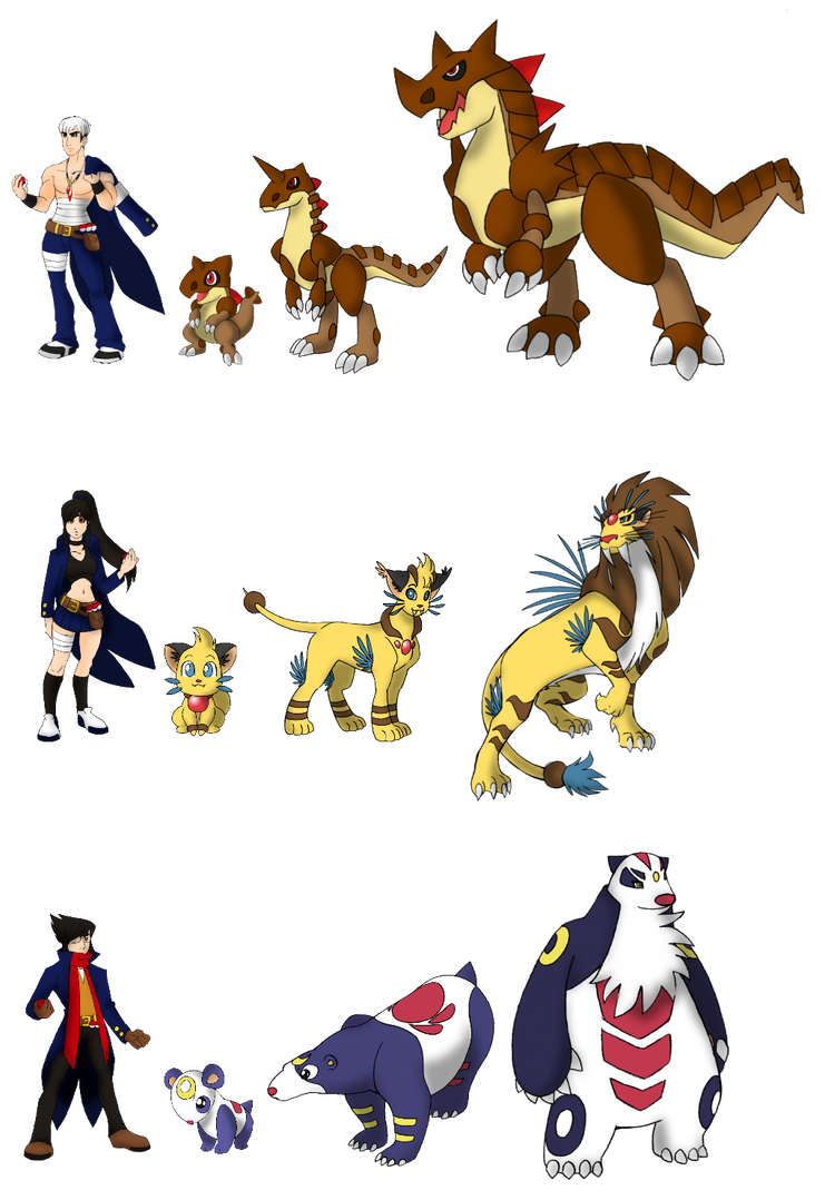 Pokemon Characters Names And Pictures Images