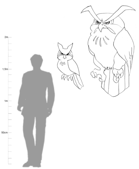 My Homunculus Handbook: Roc Owl by NanaRamos