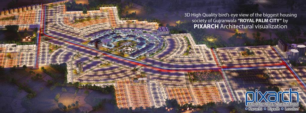ROYAL PALM CITY by pixarch