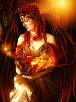 Lady of Flames by AusWolf666