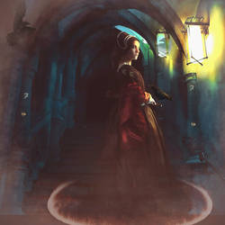 Mistress Boleyn and the Raven Oracle  by AusWolf666