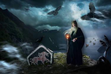 Odin's Ravens by AusWolf666