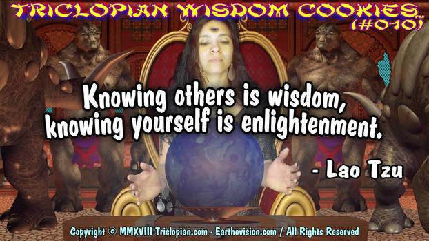 Triclopian Wisdom Cookies (10 - Lao Tzu)