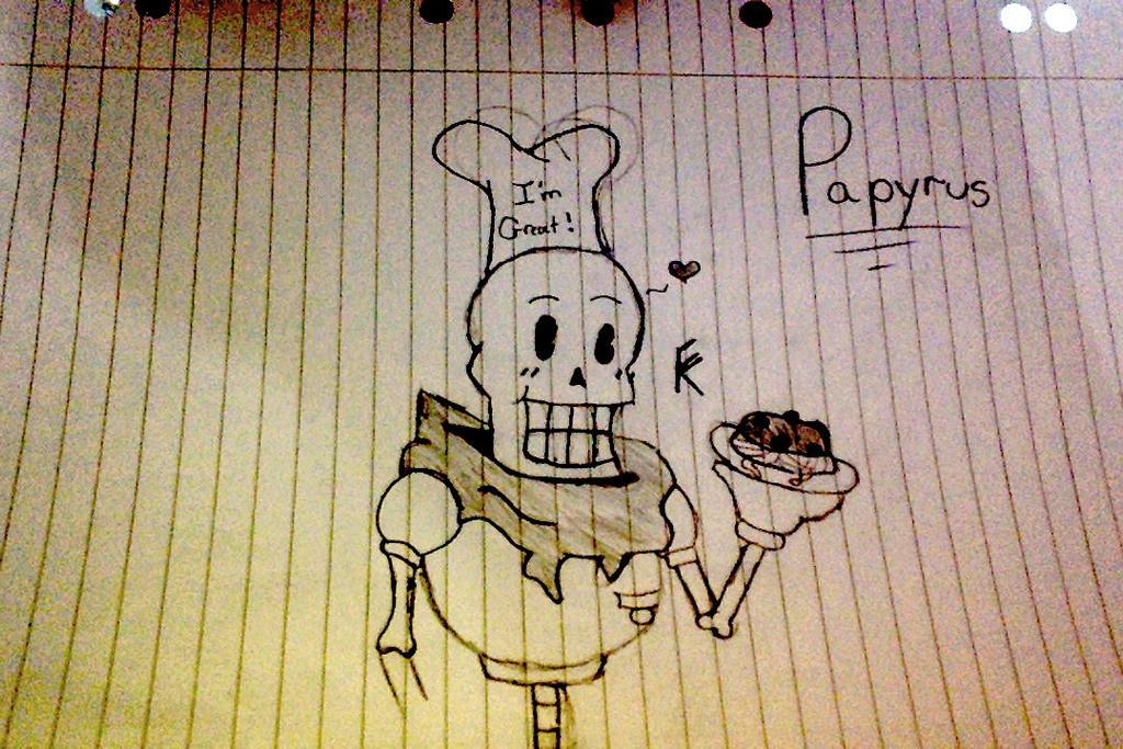 Undertale::: Papyrus by tomkat25