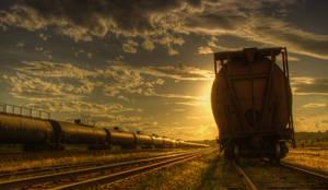 Rail Yard by Gemini8026
