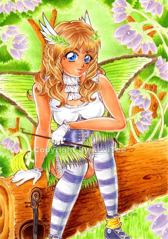 Music Maiden by kiwitee