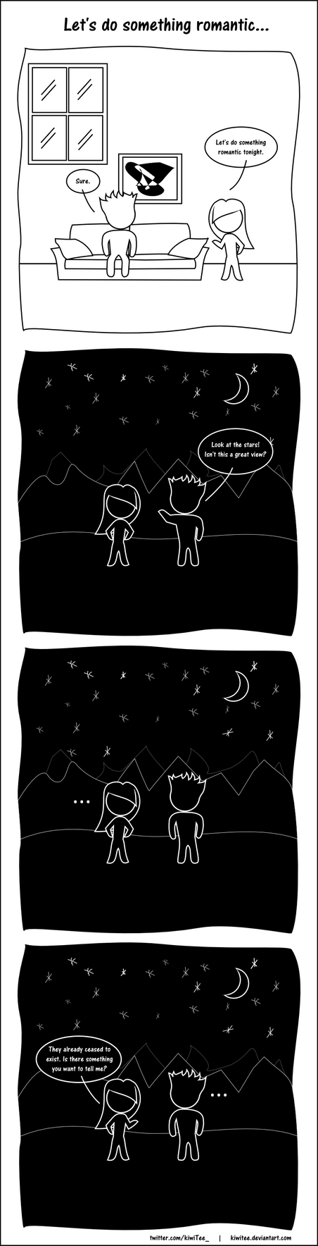 Let's Do Something Romantic by kiwitee