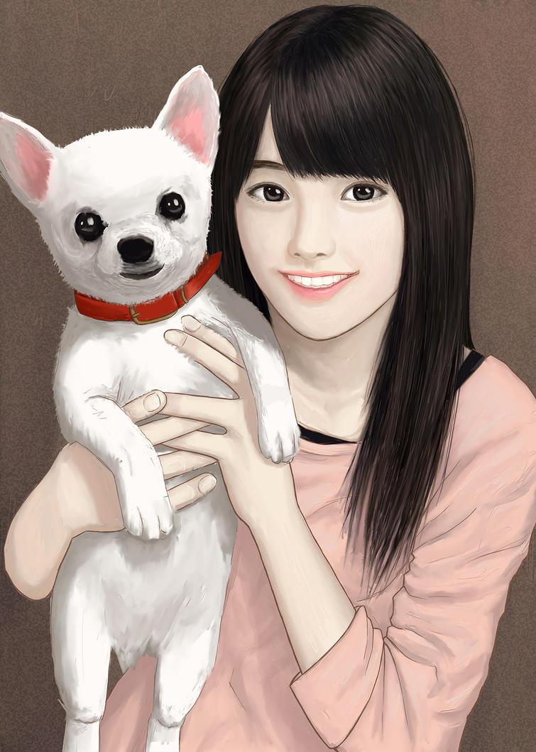 My puppy by Robin-Arc