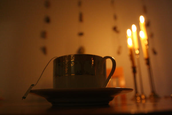 Candles and Tea