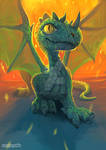 Dragon. Fantastic beast and where to find them