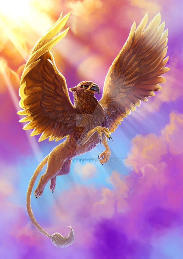Griffin. Fantastic beasts and where to find them by maryquiZe