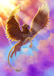 Griffin. Fantastic beasts and where to find them