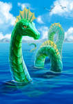 Sea Serpent. Fantastic beasts, where to find them