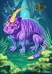 Crumple-Horned Snorkack. Faantastic beasts