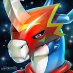 Flamedramon Icon V.2