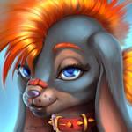 Saffy, seductive rabbit