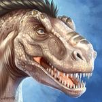 Woodland, T-Rex girl icon
