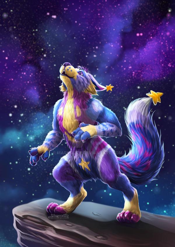 Werewolf named Sparkie