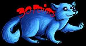 Deluxe Raccoon Lineart 30 points