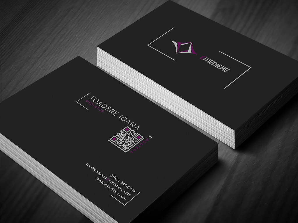 Eme re business cards website soon by onepads on