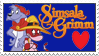 Simsala Grimm Stamp by FuchsRobinHood