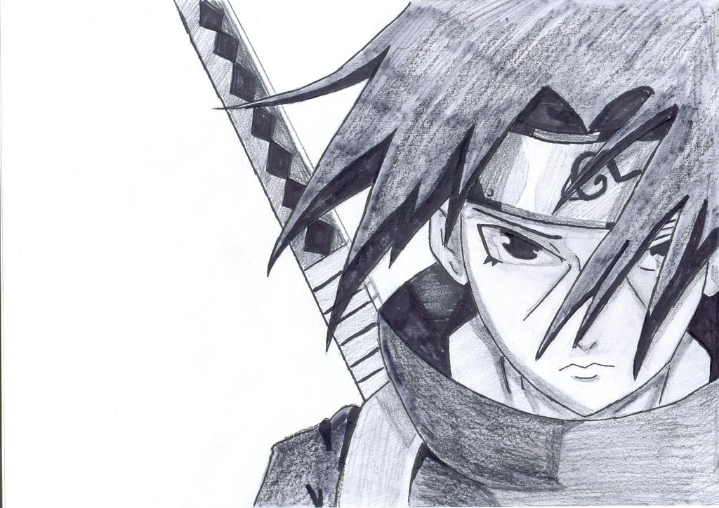 uchiha itachi draw by you517