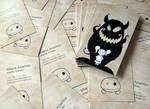 Business cards Guardian Fluffy by killedinhersleep