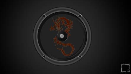 Dragon Speaker Wallpaper
