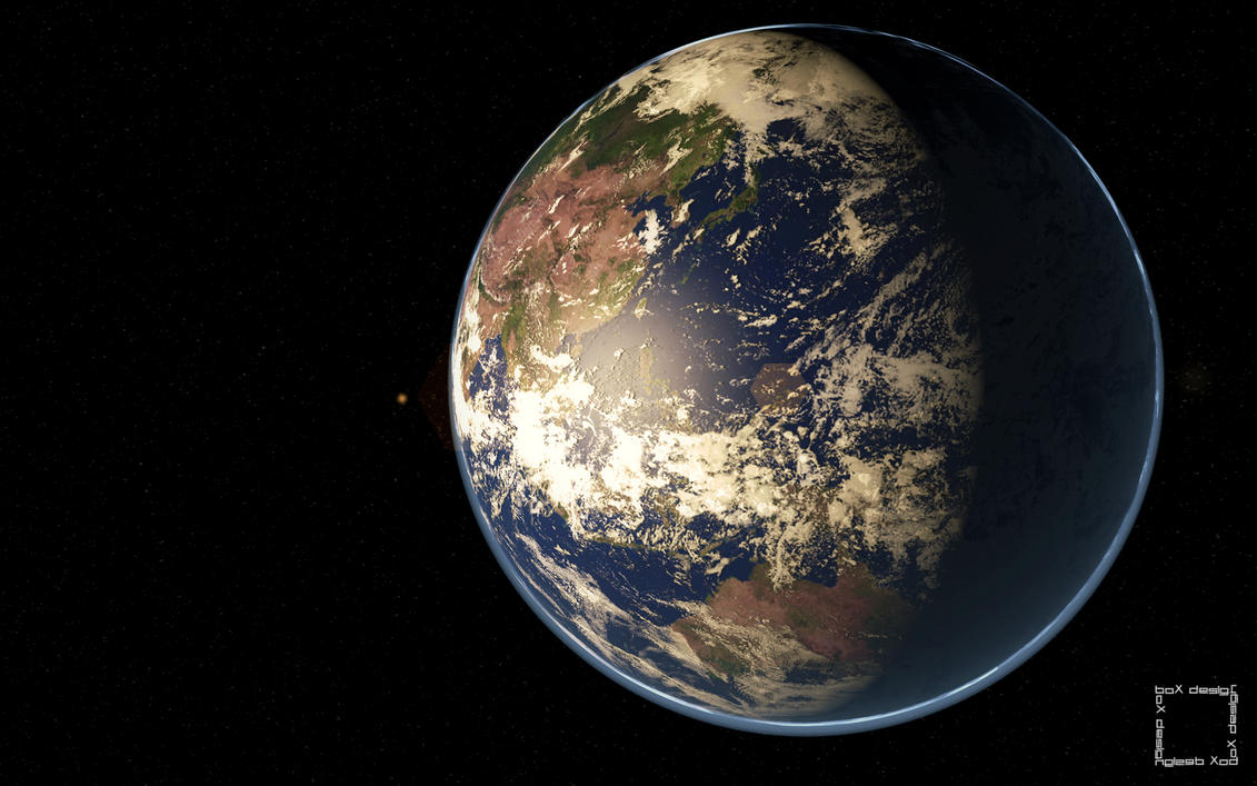 Planet Earth Wallpaper By BoX1515