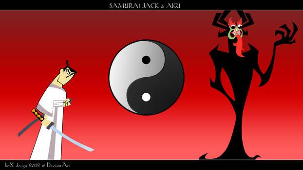Samurai Jack_Aku Wallpaper