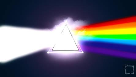 Crystal Rainbow Wallpaper