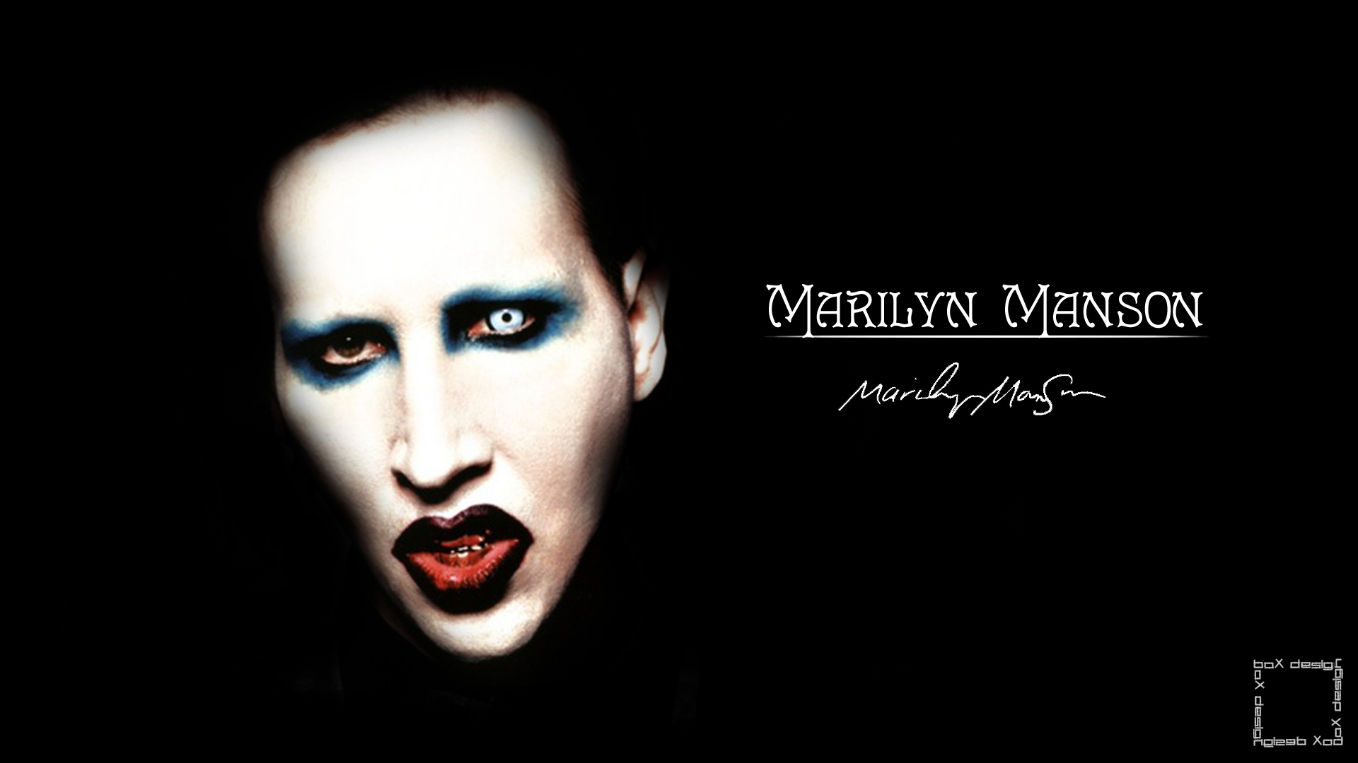 Marilyn Manson Wallpaper by boX1515 on dev
