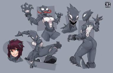 she-Venom Mania#1 by KelvinHiu