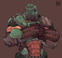 Doom slayer by KelvinHiu