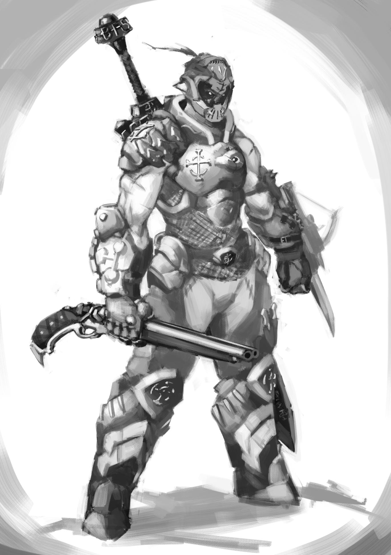 Doom Guy Medieval Style By Kelvinhiu On Deviantart
