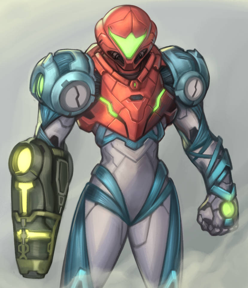 Metroid Dread_Samus Aran