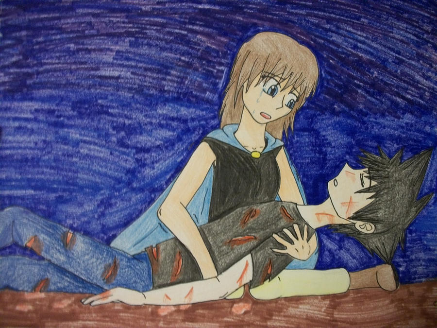 The gallery for --> Anime Boy Dying